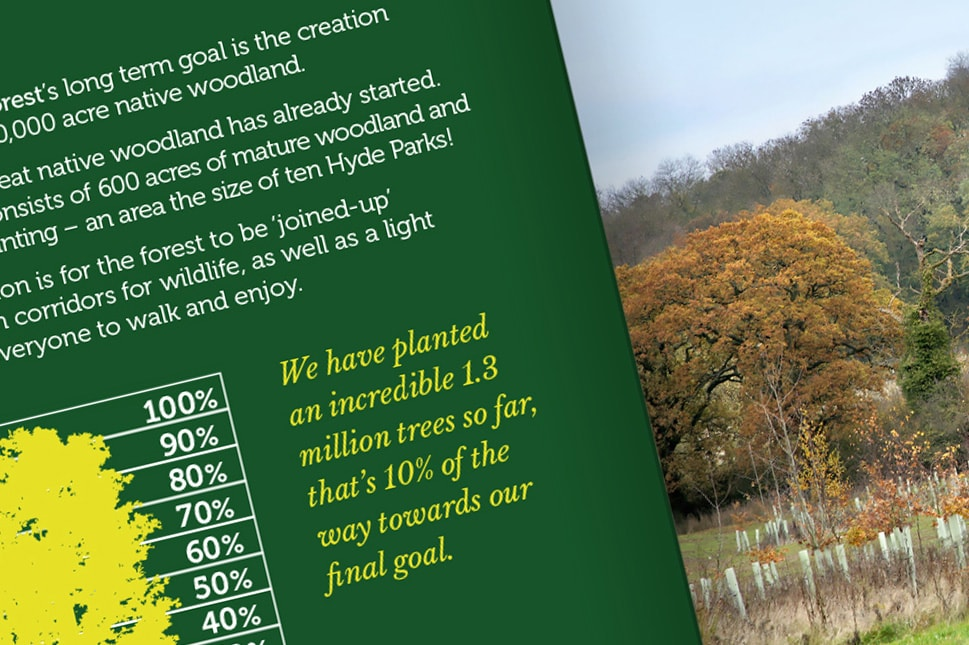 Heart of England Forest pamphlet